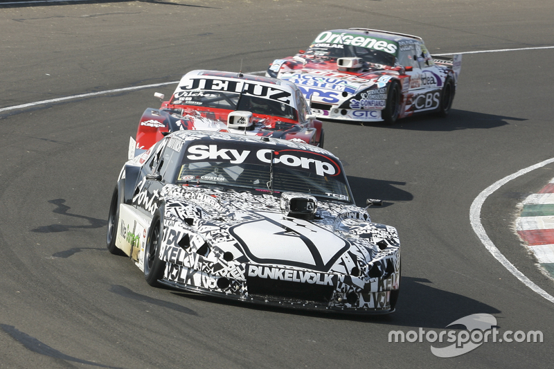 Laureano Campanera, Donto Racing Chevrolet and Pedro Gentile, JP Racing Chevrolet and Camilo Echevar