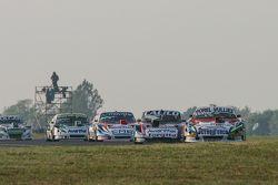 Juan Martin Trucco, JMT Motorsport Dodge y Emanuel Moriatis, Alifraco Sport Ford y Christian Ledesma