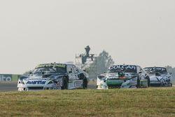 Diego de Carlo, JC Competicion Chevrolet y Gaston Mazzacane, Coiro Dole Racing Chevrolet y Laureano