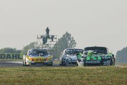 Mauro Giallombardo, Maquin Parts Racing Ford and Josito di Palma, CAR Racing Torino and Laureano Cam