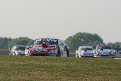 Matias Rossi, Donto Racing Chevrolet and Matias Jalaf, Catalan Magni Motorsport Ford and Leonel Sotr