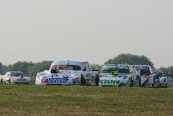 Leonel Sotro, Alifraco Sport Ford y Agustin Canapino, Jet Racing Chevrolet y Norberto Fontana, Labor