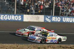 Martin Serrano, Coiro Dole Racing Dodge and Mariano Altuna, Altuna Competicion Chevrolet