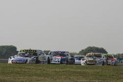 Мартін Серрано, Coiro Dole Racing Dodge та Хосе Савіно, Savino Sport Ford та Гастон Маццакане, Coiro