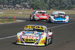 Mauricio Lambiris, Coiro Dole Racing Torino and Emiliano Spataro, UR Racing Dodge and Matias Rossi, Donto Racing Chevrolet