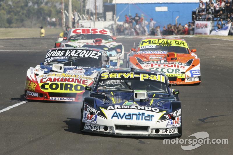 Diego de Carlo, JC Competicion Chevrolet dan Lionel Ugalde, Ugalde Competicion Ford dan Jonatan Cast