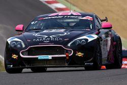 #47 JWB Motorsport Aston Martin GT4: Challenge: Kieran Griffin, Jake Giddings
