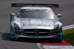 #22 Preci-Spark Mercedes AMG SLS GT3: David Jones, Godfrey Jones