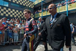 Max Verstappen performs at Red Bull Showrun: Assen
