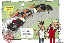 Карикатура: взгляд Мальдонадо на инцидент в Шпильберге