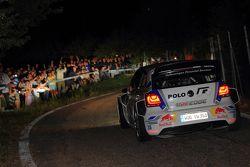 Яри-Матти Латвала и Миикка Анттила, Volkswagen Polo R WRC, Rallylegend 2014 года