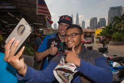 Chaz Mostert, Prodrive Racing Australia alrededor de Kuala Lumpur, Malasia