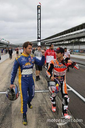 Marco Andretti, Andretti Autosport Honda en Dani Pedrosa, Repsol Honda Team