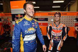 Marco Andretti, Andretti Autosport Honda y Dani Pedrosa, Repsol Honda Team