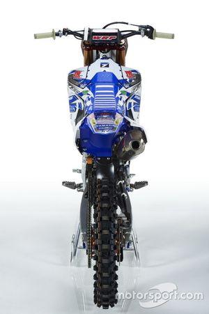 La Yamaha YZ250F, Kemea Yamaha Yamalube