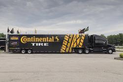 Transporte de los Neumáticos Continental