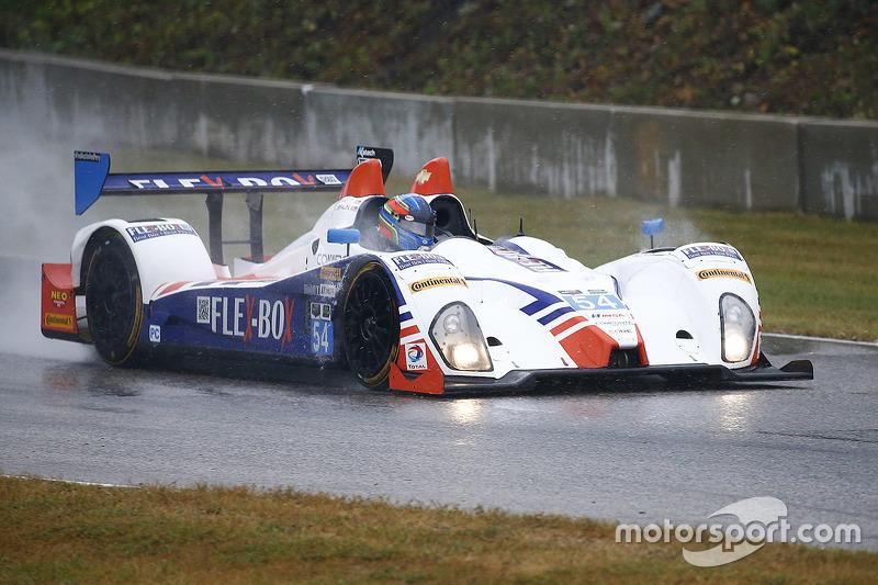 #54 CORE autosport Oreca FLM09: Джон Беннетт, Колін Браун