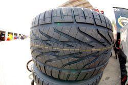 Goodyear detalle neumáticos de lluvia