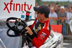 Race winner Joey Logano, Team Penske