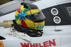 Joao Barbosa's helmet
