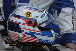 Joey Hand's helmet