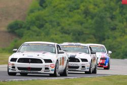#57 Racers Edge Motorsports Mustang Boss 302R: Louis-Philippe Montour, Nick Galante