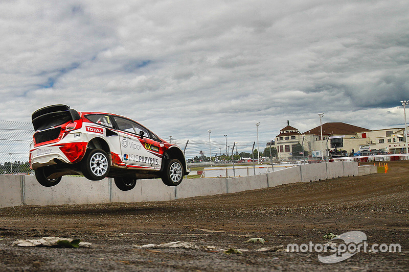 Manfred Stohl, World RX Team Austria Ford Fiesta ST