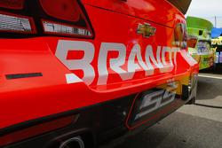 Задняя часть автомобиля HScott Motorsports Chevrolet Джастина Алгайера