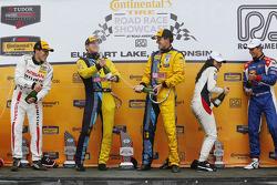 Podio: ganadores de la carrera de Matt Plumb, Hugh Plumb