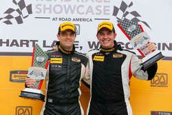 Class podium: winners Chad Gilsinger, Ryan Eversley