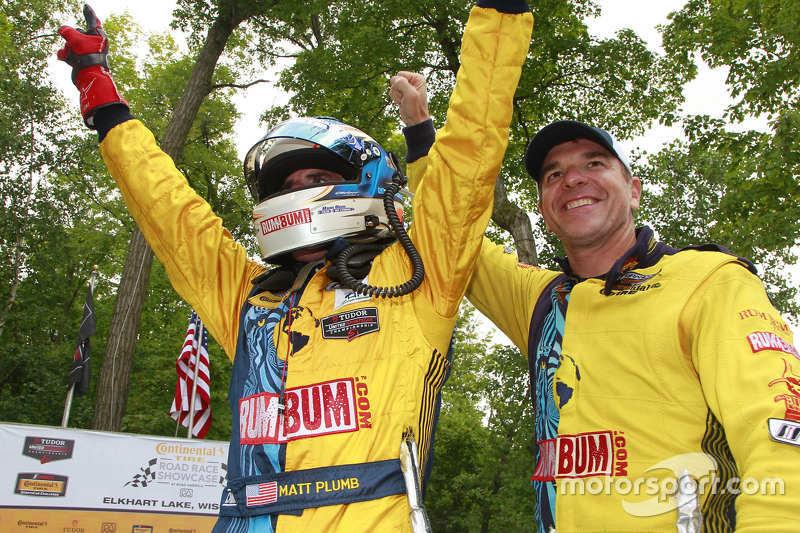 Race winners Matt Plumb, Hugh Plumb