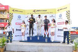 Podyum 3. Yarış, kazanan: Akhil Rabindra, ikinci Vishnu Prasad, üçüncü Costantino Peroni