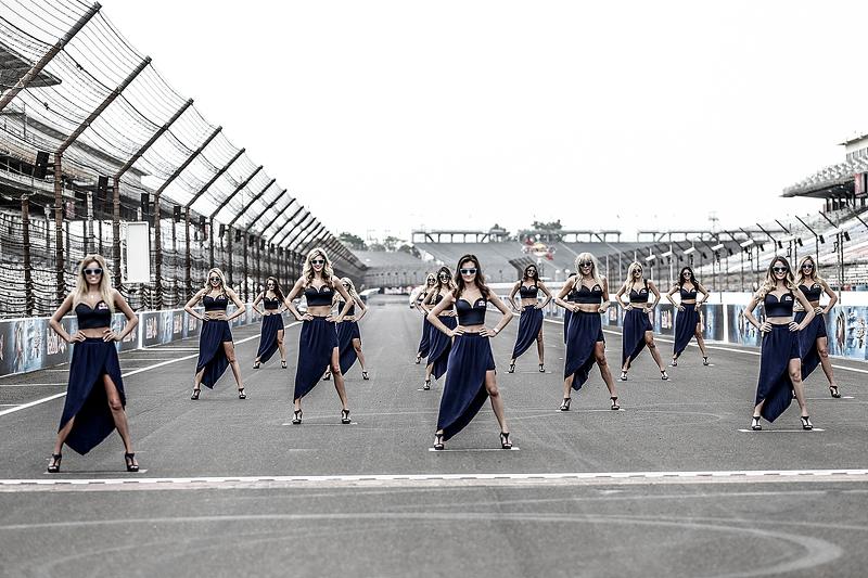 Gadis-gadis Red Bull yang cantik