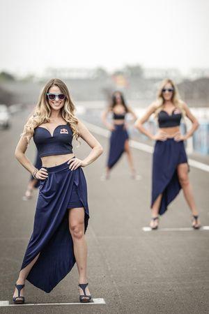 Las chicas de Red Bull