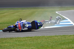 Jorge Lorenzo, Yamaha Factory Racing, incidente