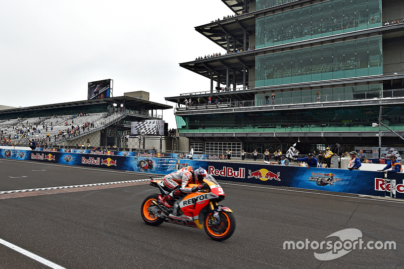 Marc Marquez, Repsol Honda Team takes the win