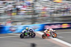 Valentino Rossi, Yamaha Factory Racing e Dani Pedrosa, Repsol Honda Team