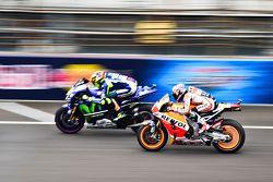 Valentino Rossi, Yamaha Factory Racing y Dani Pedrosa, Repsol Honda Team
