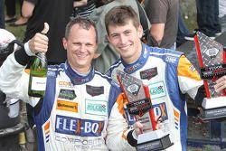 Third place in PC class: #54 CORE autosport Oreca FLM09: Jon Bennett, Colin Braun