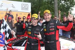 Overall winners #31 Action Express Racing Corvette DP: Eric Curran, Dane Cameron