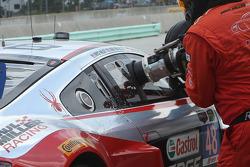 #48 Paul Miller Racing Audi R8 LMS: Christopher Haase, Dion von Moltke refueled