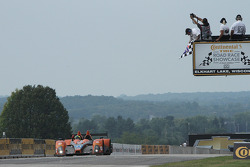 #11 RSR Racing Oreca FLM09 Chevrolet: Chris Cumming, Bruno Junqueira takes the PC class win