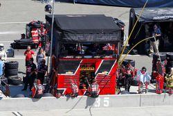 Stewart-Haas Racing pit