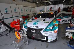 La Lexus RC F #36 del Lexus Team Petronas Tom's: Daisuke Ito, James Rossiter