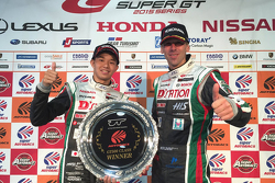 Podio: il vincitore Daiki Sasaki, Michael Krumm