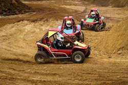 Buggy racing at the Nissan GT Academy Finals