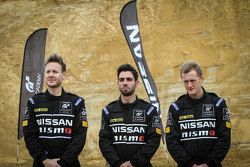 The final three Australian competitors at the GT Academy Finals