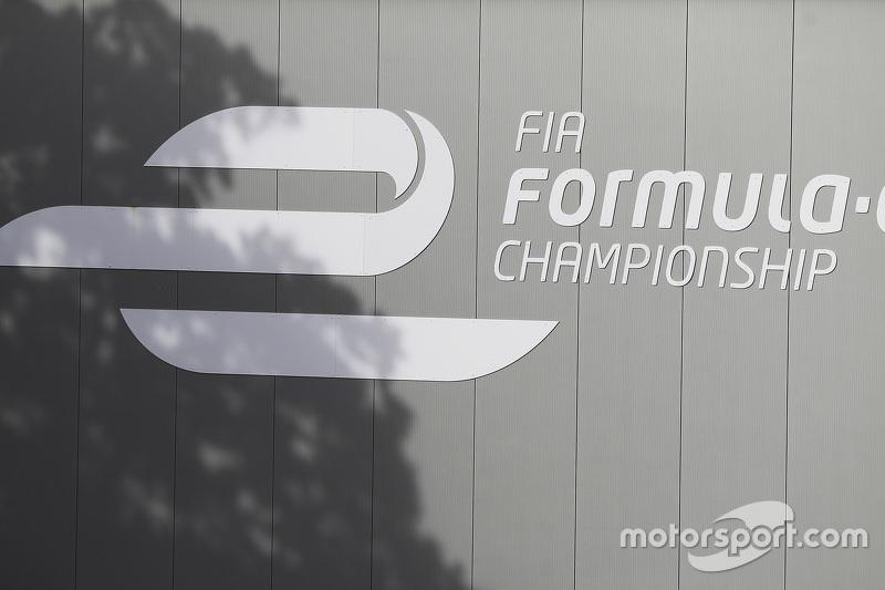 FIA Formula E signage