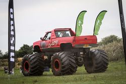 Monster Truck race at the Nissan GT Academy Race Camp
