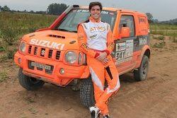 Luiz Razia no Rally dos Sertões